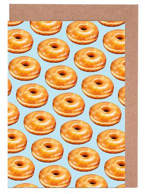 Glazed Doughnut Pattern
