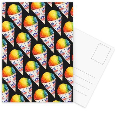 Snow Cone Pattern cartes postales