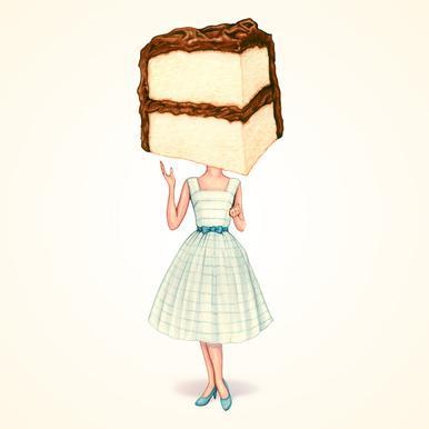Cake Heads Chocolate Acrylic Print