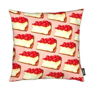 Cherry Cheesecake Pattern Pink