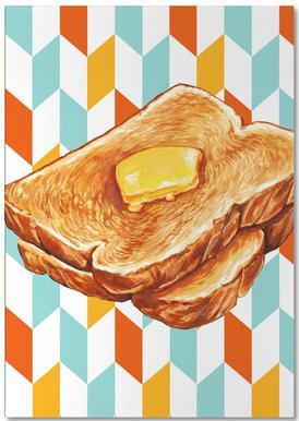 Buttered Toast Notesblok