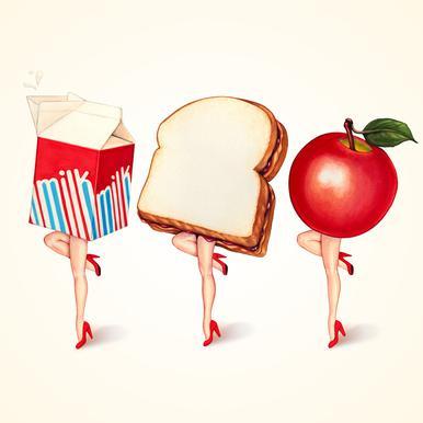 Lunch Ladies Acrylic Print