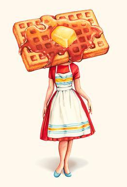 Waffle Housewife Acrylic Print