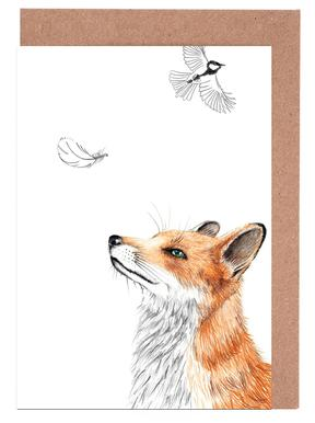 Fox Greeting Card Set