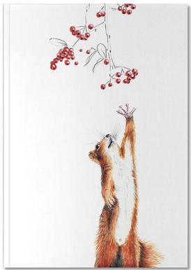 Squirrel carnet de notes