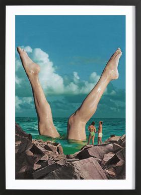 Nice Legs Framed Print