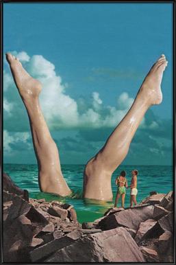 Nice Legs Framed Poster