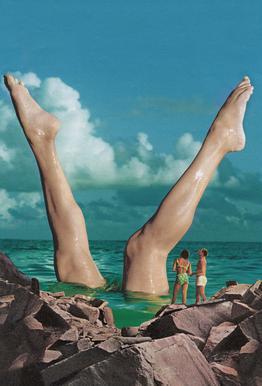 Nice Legs Aluminium Print