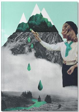Painting On Mountain Notebook