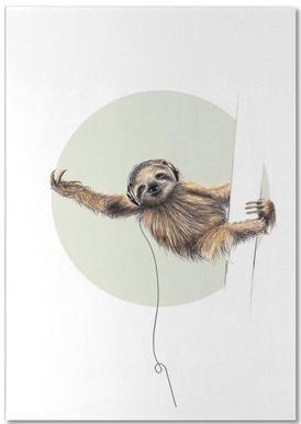 Sloth -Notizblock