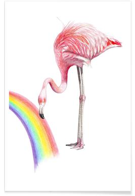 Flamingo -Poster