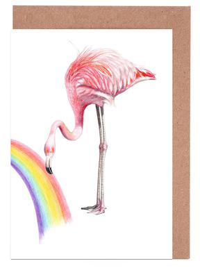 Flamingo Greeting Card Set