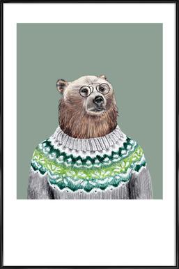 Bär im Pullover