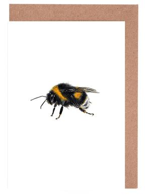 Bumblebee 02 Greeting Card Set