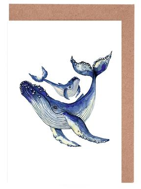Buckelwale cartes de vœux