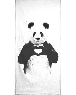 All You Need Is Love Bath Towel
