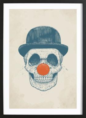Dead Clown ingelijste print