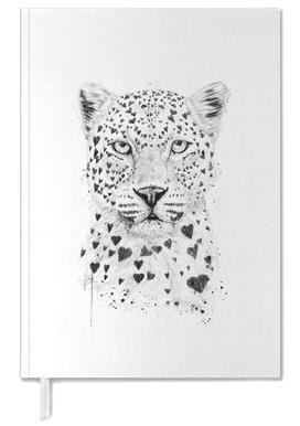 Lovely leopard agenda