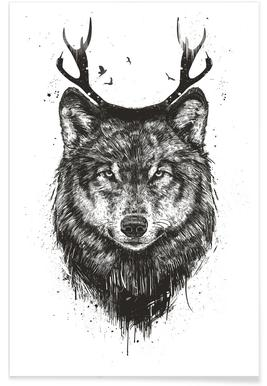 Deer Wolf poster