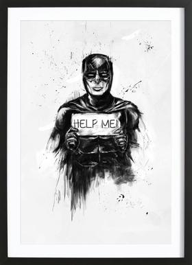 Help me! Framed Print