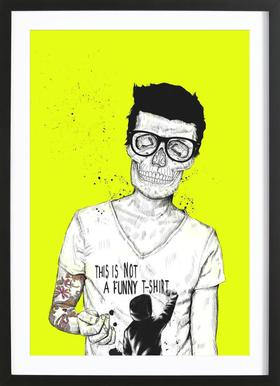 Hipsters not dead Framed Print
