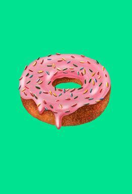 Donut Acrylic Print