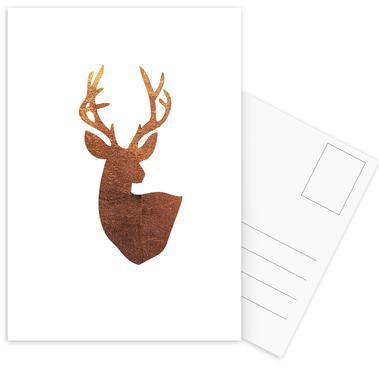Hirsch Kupfer Postcard Set