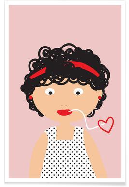 Pasta Love Poster