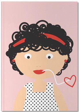 Pasta Love Notebook