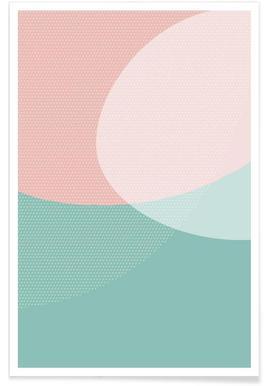 Soft Shapes - Premium Poster