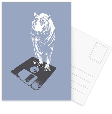 Oldskool 5 -Postkartenset