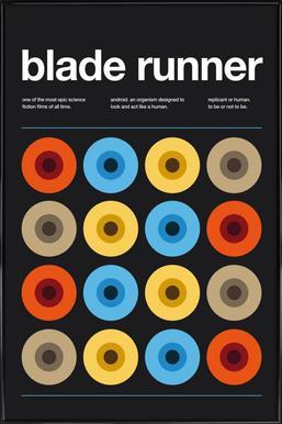 Blade Runner - Poster in kunststof lijst