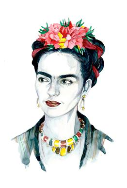 Frida Kahlo alu dibond
