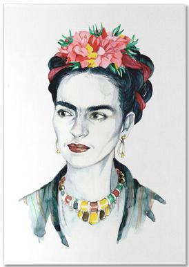 Frida Kahlo -Notizblock