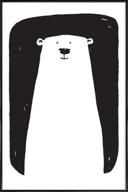 Bear affiche encadrée