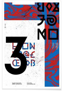 KBHM3YEARS 2 - Premium poster