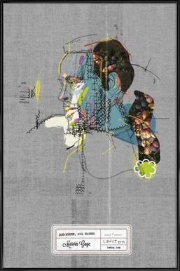 Marvin Portrait Framed Poster