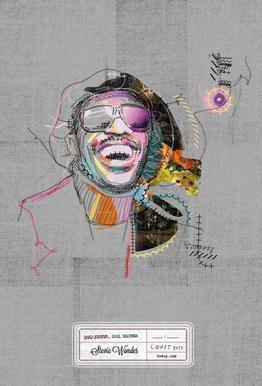 Stevie Portrait Acrylic Print