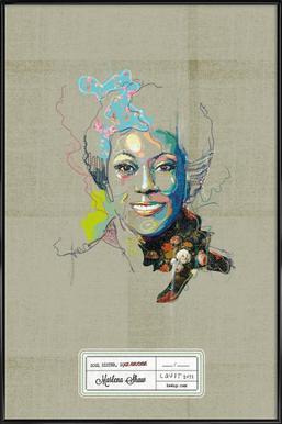 Marlena Portrait Framed Poster