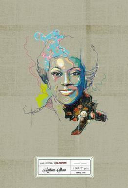 Marlena Portrait -Acrylglasbild