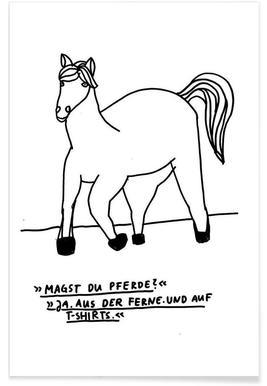 Pferde -Poster