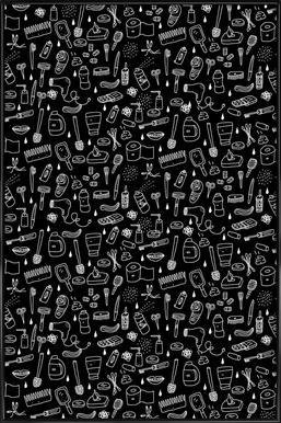 Shower Pattern (black)
