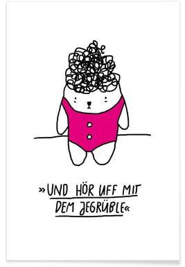 Jegrüble -Poster