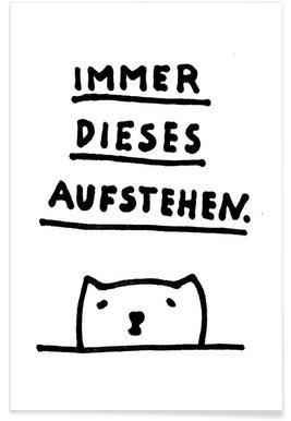 Aufstehen -Poster