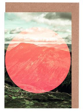 Scottish Highlands Circular -Grußkarten-Set