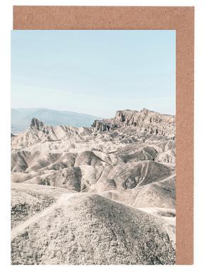 Raw 6 Golden Canyon USA -Grußkarten-Set
