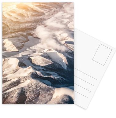 Raw 6 Nanortalik Greenland -Postkartenset