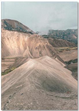Raw 7 Landmannalaugar Iceland Notebook
