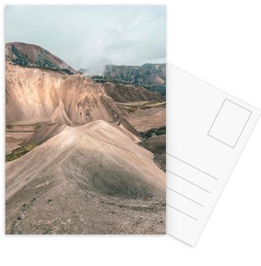 Raw 7 Landmannalaugar Iceland -Postkartenset