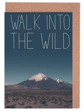 Walk into the Wild -Grußkarten-Set